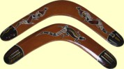 Hand painted boomerangs