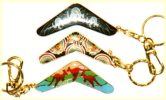 Boomerang key rings