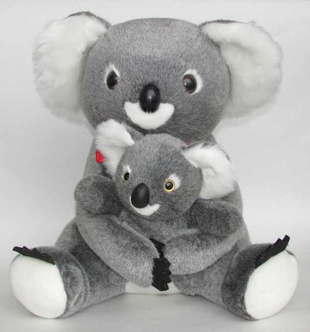 Giant koala soft toy