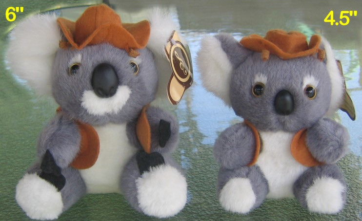 Koala soft toy with Waltzing Matilda music