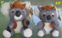 Koala soft toys with music