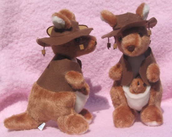 Kangaroo Toy with Waltzing Matilda music