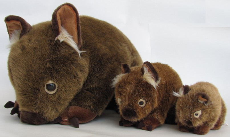 The best wombat toys