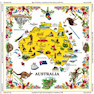 Australiana table cloth